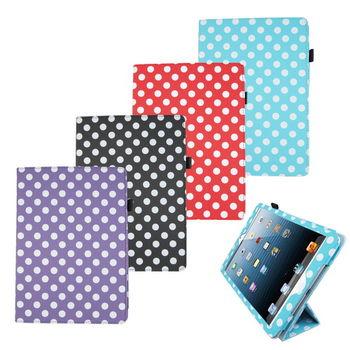 L75波點支架 iPad Air(iPad5)平板皮套