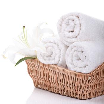 【法式寢飾花季】優雅生活-五星級飯店御用白色平織方巾(5件組)