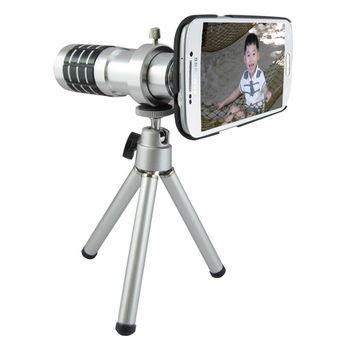 TS23銀砲管 Samsung S5(i9600/G900)專用型 望遠鏡頭組(18倍光學變焦)
