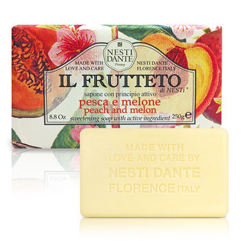 義大利手工香皂 (杏桃與哈密瓜)