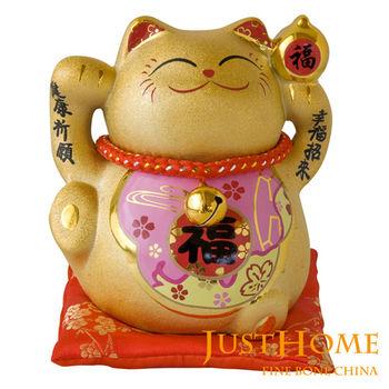 【翌軒閣】金運陶瓷5吋招財貓撲滿擺飾(3款可選)