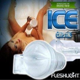 【壞男愛世界】美國原裝FleshlightR 《 Ice Mouth Crystal 透明水晶美唇 整組 》加贈日本NPG超細緻潤滑液20ml*2份【免運費】
