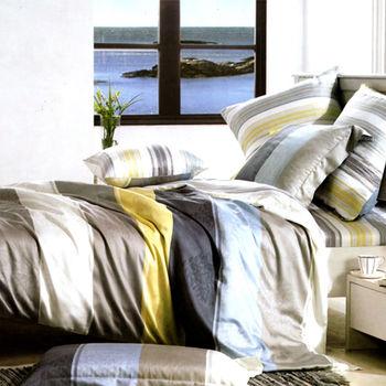 【KOSNEY】索思100%天絲加大四件式兩用被床包組