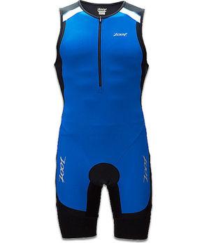 【ZOOT】二級專業型肌能連身三鐵衣(男-藍) Z1306032