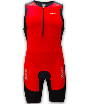 【ZOOT】 二級專業型肌能連身三鐵衣(男-紅) Z1306032