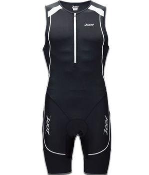 【ZOOT】二級專業型肌能連身三鐵衣 (男-黑白) Z1306032