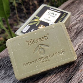 希臘BIOESTI 阿勒坡桂冠美膚皂100克10入組
