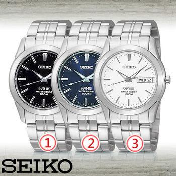【SEIKO 精工】經典款-藍寶石超薄紳士男錶(SGG713P1_SGG715P1_SGG717P1)