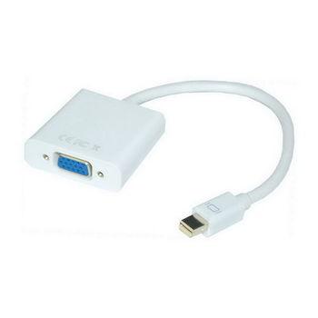 【FU】Mini Displayport(公)轉VGA(母)訊號轉換線(SR4106)