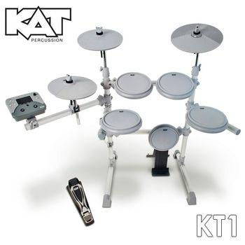 『KAT』美國品牌標準規格電子鼓組/含鼓椅、鼓棒、耳機 (KT-1)