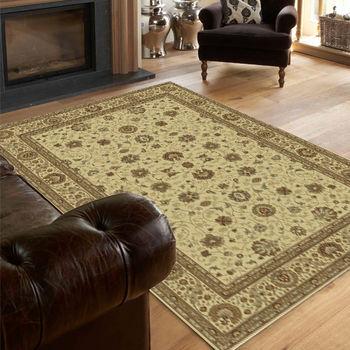 【范登伯格】水晶浪漫古典風順柔亮彩絲質進口地毯-140x190cm