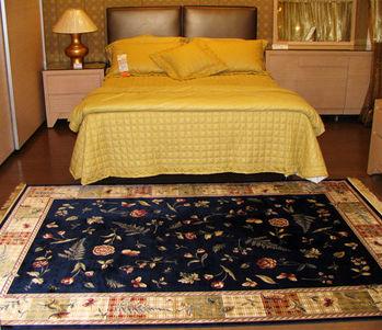 【范登伯格】芭比多采滑順進口絲質地毯-(藍)140x190cm