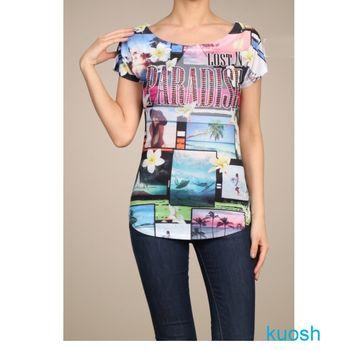 【kuosh】美國進口快樂天堂上衣(現貨+預購)NS-5082