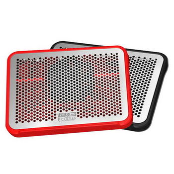 【FU】H15 12吋筆電散熱墊M125-黑/紅(可選色)