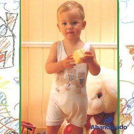 【西班牙 Abanderado】(0924 ) 嬰兒連身衣(背心小熊)(尺寸6/12/18/24)