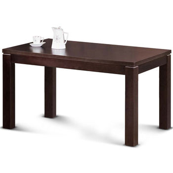 【MY傢俬】歐風樸質胡桃色實木餐桌