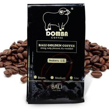 【幸福小胖】巴里島小綿羊黃金咖啡公豆 4包 (225g/半磅/包)