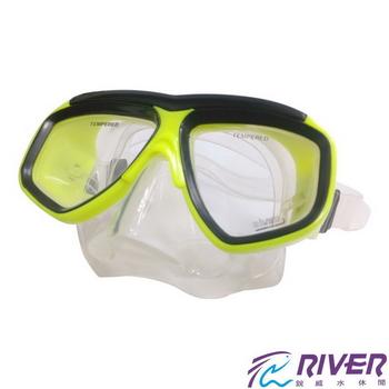 RIVER 矽膠雙面潛水鏡(MS-82)