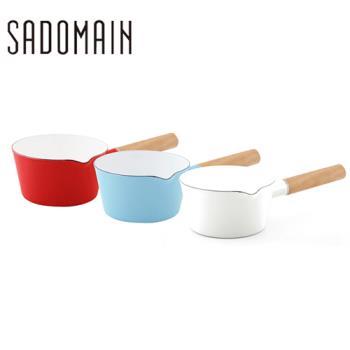 【仙德曼】琺瑯單柄小湯鍋 SV315
