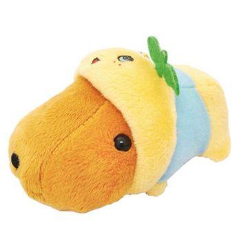 Kapibarasan 水豚君便裝系列毛絨公仔吊飾 水豚君