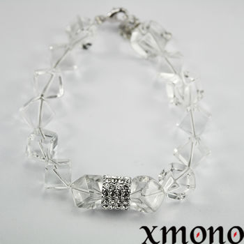 【XMONO】石來運轉-白水晶好頭腦