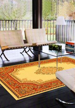 【范登伯格】紅寶石歐洲皇室御用的比利時進口絲棉毯(米)-140x190cm