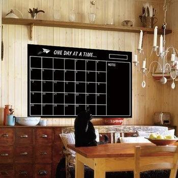 JB 時尚壁貼 - 黑板方格日曆