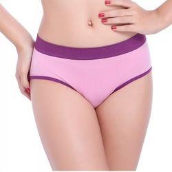 紫東森森購物色無縫一片式三角內褲