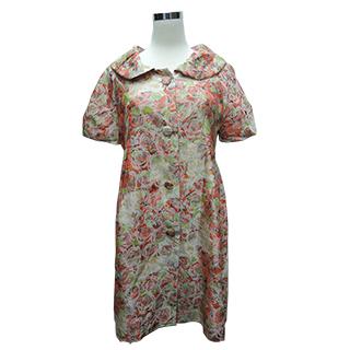 【龐吉PANGCHI】小碎花旗袍式上衣(1312005-85)