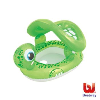 《Bestway》海龜抗UV充氣座圈