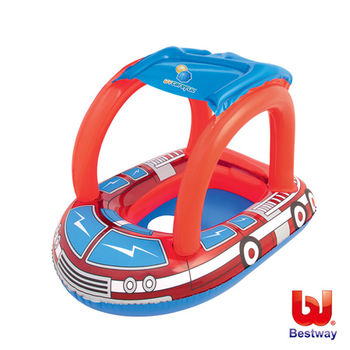 《Bestway》消防車造型抗UV充氣座圈