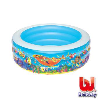 《Bestway》海底世界充氣水池