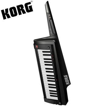 【KORG】KEYTAR肩背式合成器鍵盤含原廠琴袋-黑色-公司貨保固 (RK-100S)