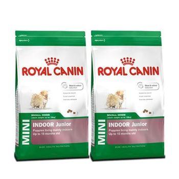 【ROYAL CANIN】法國皇家 小型室內幼犬PRIJ27 犬飼料 4公斤 X 2包