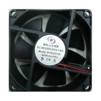 WS 9cm x 9cm 系統散熱風扇2入-大4p
