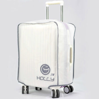 PUSH! 旅遊用品 ABS.PC行李箱拉杆箱專用防水保護套 防塵套 箱套拖運套