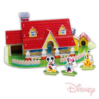 《迪士尼DISNEY》3D立體模型組合屋-米奇屋