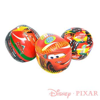 《迪士尼DISNEY》Cars充棉球/軟球組(大)-附收納提袋 3入1組