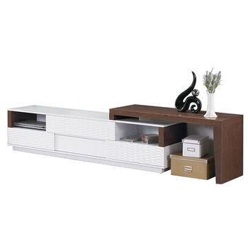 H&D 班尼迪克鋼烤造型收納6尺電視櫃/長櫃
