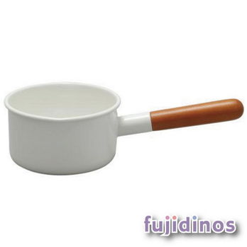 Fujidinos【野田琺瑯】POCHIKA花蕾系列餐具‧12CM輕食獨享鍋‧牛奶鍋