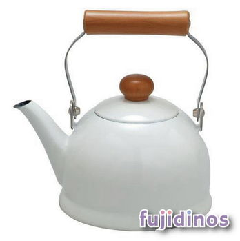 Fujidinos【野田琺瑯】POCHIKA花蕾系列餐具1.5L簡約熱水壺