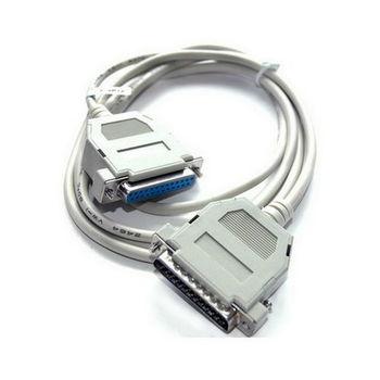 【FU】25PIN公對母 標準印表機連接線-3公尺(SQ2552)