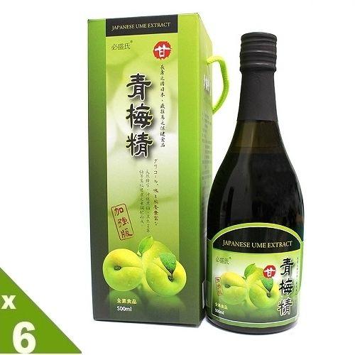 草本之家-青梅精超大瓶500mlX6瓶