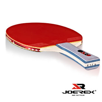 《JOEREX》初級選手長柄乒乓球拍/桌球拍-附炫彩拍袋