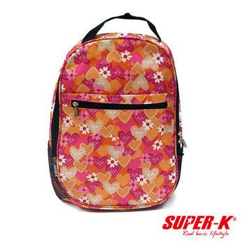 《SUPER-K》手提後背兩用包-粉紅SHB24516☆加厚透氣背墊