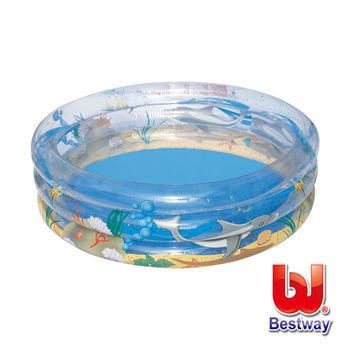 《Bestway》海洋生物充氣水池