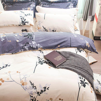 【OLIVIA】和風光影  特大雙人床包枕套三件組