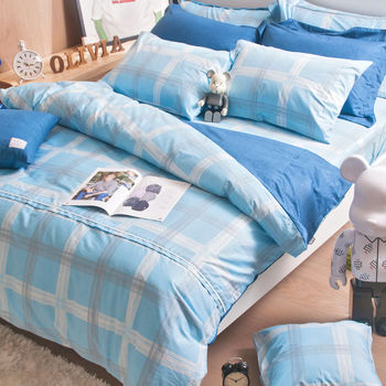 【OLIVIA】布勞森  單人床包枕套兩件組