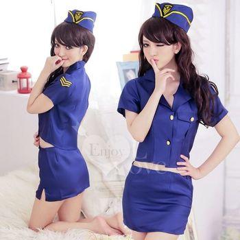 草莓牛奶為愛投降!女警角色遊戲制服
