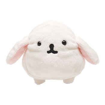San-X 麻糬兔兔子朋友系列毛絨公仔 白大福